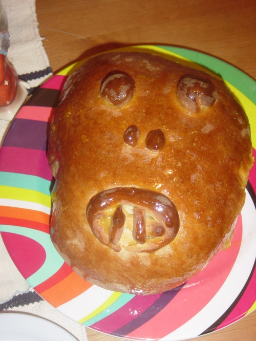 Baked Bread of the Dead